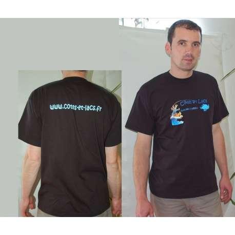 T- shirt Côtes et lacs taille L