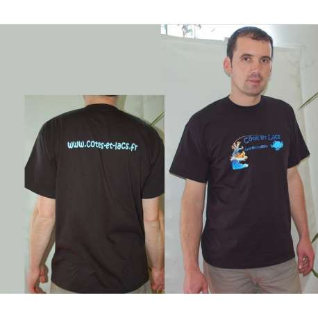 T- shirt Côtes et lacs taille M