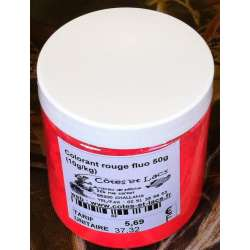 Colorant rouge fluo 50g (10g/kg)