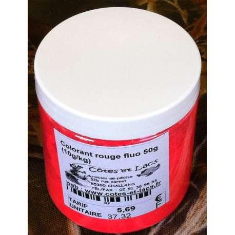 Colorant rouge fluo 50g (10g/kg)