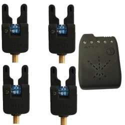 Pack 4 détecteurs bleu + centrale Atxx V2 bleu
