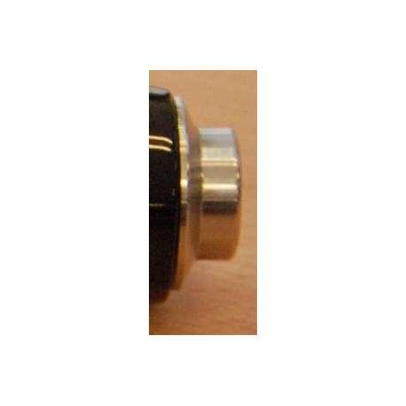 Collar inox avant pour poignees ALPS OD 17mm ID 15mm largeur hors tout 24.5mm
