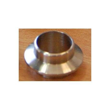 Collar inox avant pour poignees fuji OD 18mm ID 16mm largeur hors tout 24.5mm