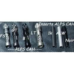 Porte moulinet ALPS CAH LX insert carbone et coloris au choix