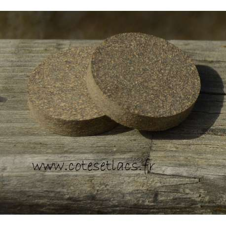 Cork disc rubber mod 33 no hole 32mm x 6.4mm