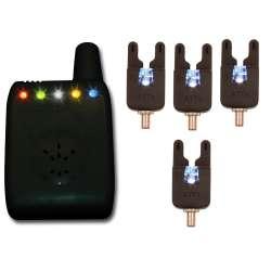 Set 4 détecteurs Atts Underlit alarm (couleurs au choix+ attx deluxe receiver + 4lense)