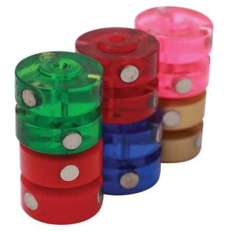 Pink roller wheel 4 magnets