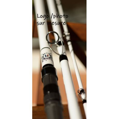Canne Surfcasting CTS S7, 60-120g, 4.50m 3brins,personnalisée