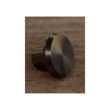 butt cap delrin noir 21mm 10/12.5mm diamètre