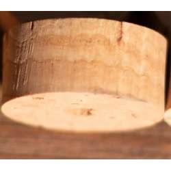 rondelle de liège - Cork disk with center hole extra - 28mm x 12.7mm trou 8mm